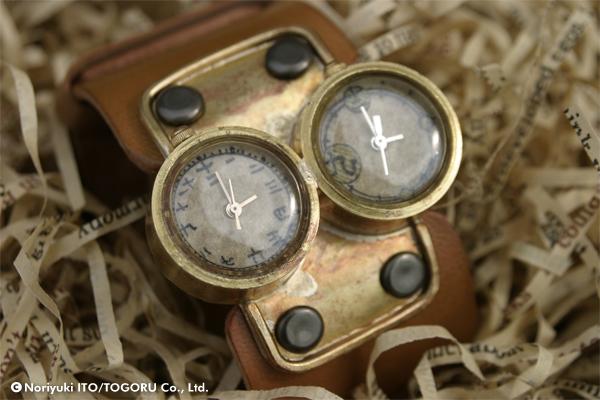 資料用に撮った腕時計