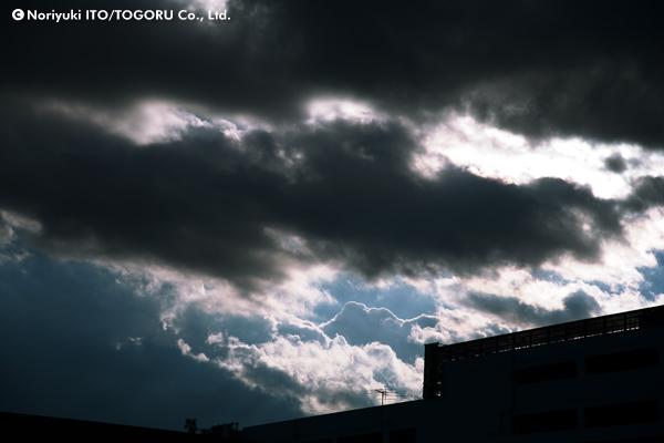 雲上の稜線