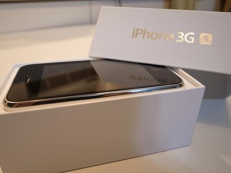 iPhone3gsのパッケージ