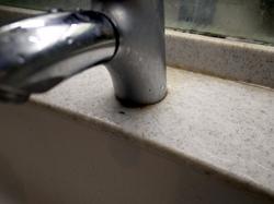 汚れていた洗面台
