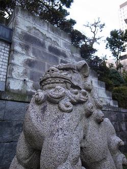 乃木神社の狛犬